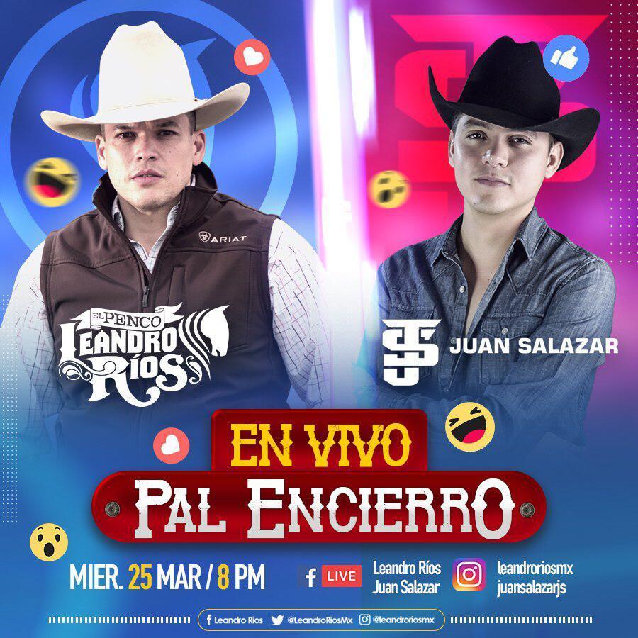 Juan Salazar y Leandro Rios - Concierto En vivo - Gerencia360