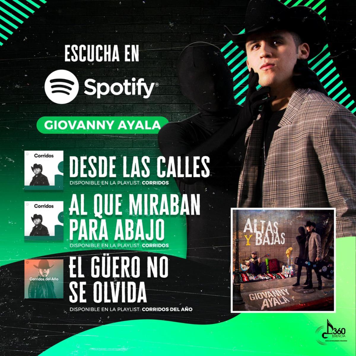 Altas Bajas - Giovanny Ayala - Gerencia360 - Spotify